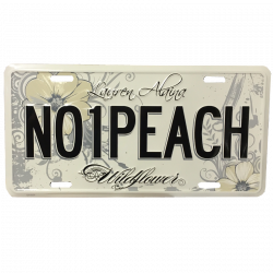 Lauren Alaina License Plate