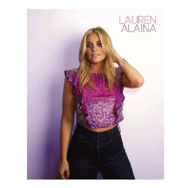 Lauren Alaina 8x10- Purple Shirt