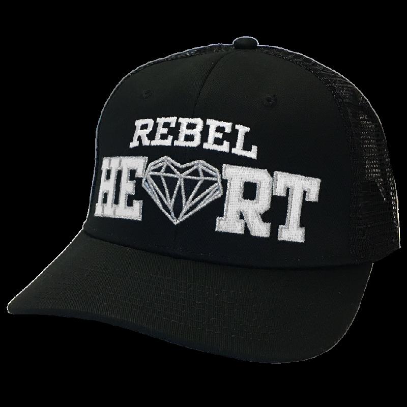 Lauren Alaina Black Rebel Heart Ballcap 54067729a2c
